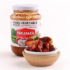 Nirapara Mixed Vegetable Pickle - 400gm
