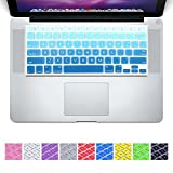 """Laprite Keyboard Cover Silicone Skin for MacBook Air 13"""" MacBook Pro 13"""" 15"""" 17"""" Inch & iMac Apple Wireless Keyboard - Sky Blue Gradient"""