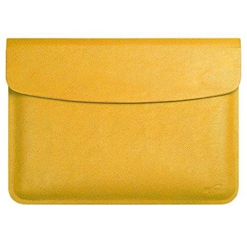 YiJee MacBook Air / Pro Laptop Hülle Notebook Tasche Schutzhülle Aktentasche 15.4 Zoll Gelb 1