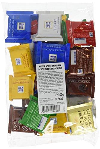 Preisvergleich Produktbild Ritter SPORT Mini Mix-Beutel,  3er Pack (3 x 500 g)