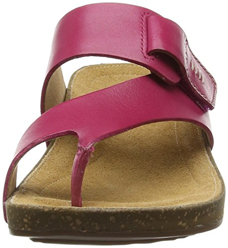 Clarks - Perri Coast, Sandali Donna Rosa (Fuchsia Leather)