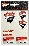 Set 11 Pegatinas Ducati Corse Oficial