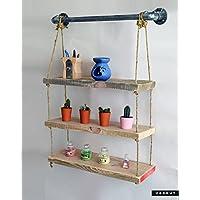 Vorhut 'Clifton Standard' - Suspended Scaffold Board Shelves (Vorhut 'Clifton Standard' - Estantes de tabla de andamio suspendido)