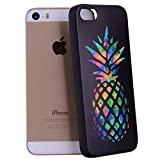 Yunbaozi Coque iPhone 5, iPhone 5S Case, iPhone Se Embossing Protective Case Housse...