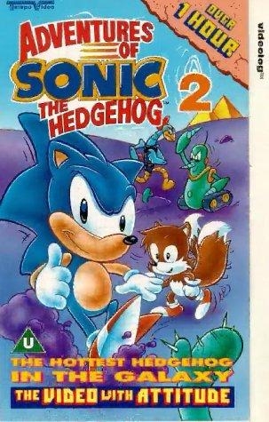 Preisvergleich Produktbild Adventures Of Sonic The Hedgehog 2 [VHS] [UK Import]