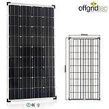 Offgridtec Solarmodul / panel Monokristallin, Solaranlage / zelle, 150 W, 001255