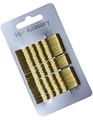 36 or Blond traditionnel Kirby Clips Cheveux Barrettes Épingles 5 cm (5,1 cm)