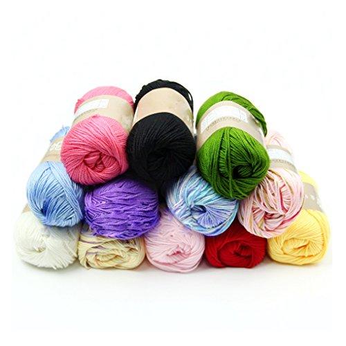 Generic 7 : High quality 50g/1pcs Child Cashmere Silk Protein Wool Hand knitting Yarn