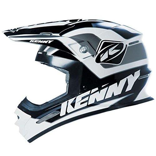 Kenny Crosshelm Track Black/Grey-XS