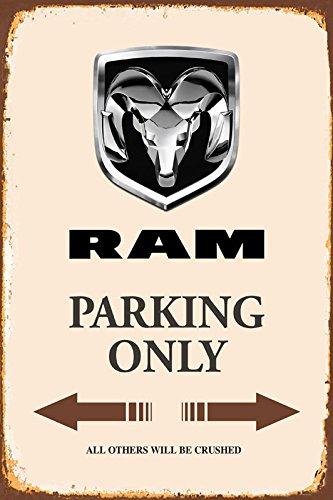 Dodge Ram Parking only blechschild