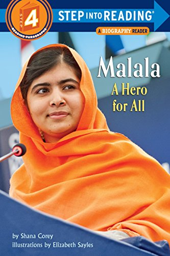 Malala. A Hero For All (Step Into Reading 4) por Shana Corey