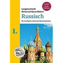 """Langenscheidt Universal-Sprachführer Russisch - Buch inklusive E-Book zum Thema """"Essen & Trinken"""": Die wichtigsten Sätze plus Reisewörterbuch"""