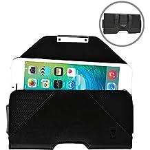 Funda tipo cartera Belt Mate de Cooper Cases(TM) para smartphones de ZTE Nubia Z5S, Z7/Max/Mini, Z9/Max/Mini con sujeción al cinturón con cierre magnético
