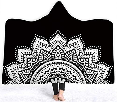 LCYCN Coperta con Cappuccio Stampata Serie 3D di di di Buddha Inverno Mantello Morbido Mantello Morbido Peluche,019,150  200cm | promozione  | Moderato Prezzo  3018f7
