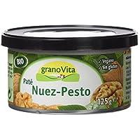 Granovita Pate Nuez Pesto Bio - 125 gr - [Pack de 3]