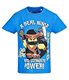 LEGO Ninjago Jungen T-Shirt - Blau - 128