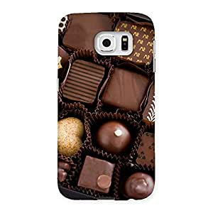 NEO WORLD Remarkable Sweet Choco Pack Back Case Cover for Samsung Galaxy S6