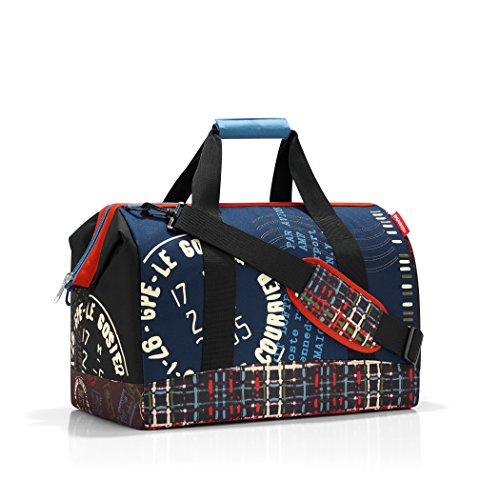 Reisenthel CB0534 Handtasche Allrounder 30 Liter ( 48X39.5X29 cm)L, ruby dots Stamps