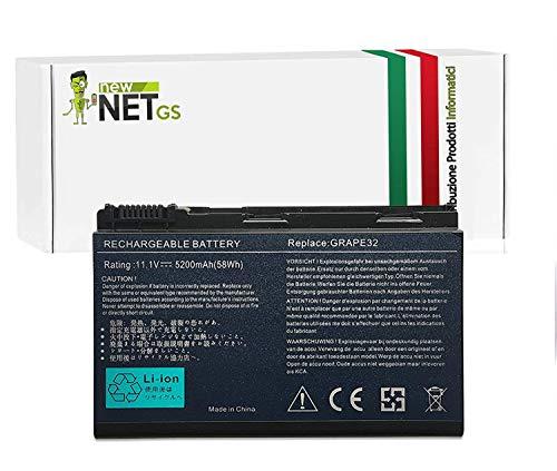 Batteria per Acer TM00742   TM00751  BT.00603.024 da 5200mAh 10.8/11.1V per Acer Extensa 5000 5630 5230E 5630Z 5630EZ 5635EZ