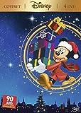 Coffret Disney 4 DVD : Mickey et la magie de Noël + Le Calendrier de Noël + Il était une fois Noël + Il était deux fois Noël