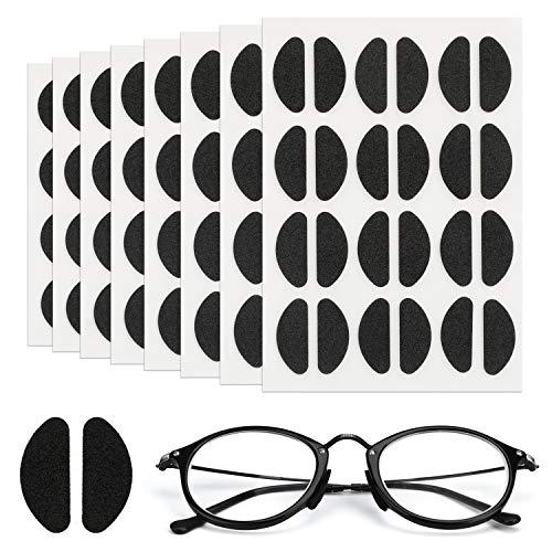 MWOOT [96 Paare Soft Foam Nasenpads Selbstklebende Brillen Pads Rutschfeste Dünne Nasenpads für Brillen Brillen Sonnenbrillen (Schwarz)