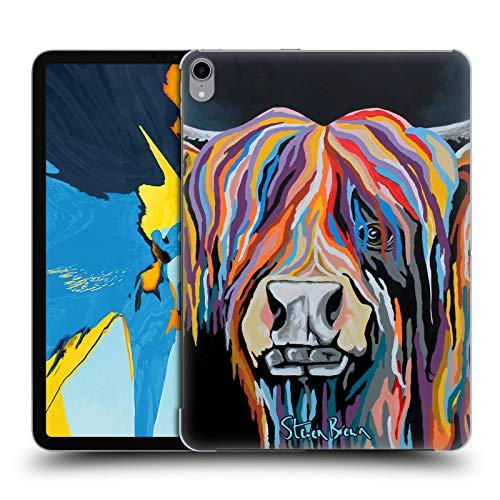 Head Case Designs Offizielle Steven Brown Ally Mccoo Hochland Kuh Sammlung 1 Harte Rueckseiten Huelle kompatibel mit iPad Pro 11 (2018) - Ally Brown