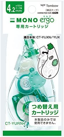 Tonboso Tonboso Tonboso Pencil Correction Tape Cartridge Monoergo N 4.2 mm CT-YURN 4 Japan | A Buon Mercato  | Di Modo Attraente  | Conosciuto per la sua eccellente qualità  a15433