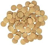 Bottoni in legno - - Playbox e 18 mm - 100 pezzi - (PBX2470114)