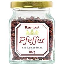 Roter Kampot Pfeffer, 100 Gramm, legendär und unübertroffen im Geschmack