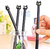 Stylos à stylos à rouleaux à encre Gel Ink Stylus pour cadeau d'anniversaire École Bureau Fournitures de papeterie Étudiants Cadeau enfants (Cat 1)...