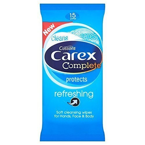 Carex Wipes 15