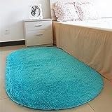 Luwu-Store Badteppiche Oval Saugfähige Soft Memory-Teppiche für den Salon im Wohnzimmer Bodenteppiche Rutschfeste Badematten