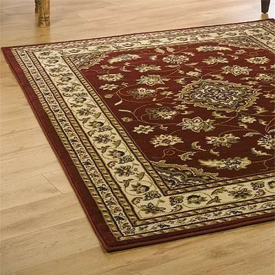Flair Rugs Sincerity Sherborne Traditional Rug, Red, 200 x 290 Cm