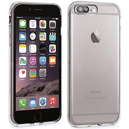 iPhone 7 Plus Funda, L2W Ultra [fina delgada] resistente a arañazos de goma de la piel TPU de silicona suave cubierta protectora para el iPhone de Apple 7 Plus - Claro