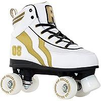 Rio Roller Varsity Kids Quads White/Gold Kids 5uk