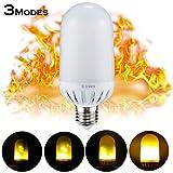 Caratteristiche: Colore: bianco caldo 3 modalità: fiammeggiante, sfarfallio, regolarmente illuminato Dimmerabile: Non Dimensione: 60MM (Diametro) * 145MM (Altezza) Potenza: 3-4W Tensione in ingresso: AC 220V  Tipo di attacco: E27  Sorgente lu...