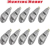#5: Fishing Lead Casting Sinker, Molds, Weights, Shots, Ball 35g