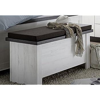 dreams4home sitztruhe 39 pennie 39 truhe bank sitzbank bettbank schlafzimmerbank ohne. Black Bedroom Furniture Sets. Home Design Ideas