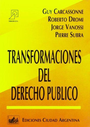 Transformaciones del Derecho Publico por Guy Carcassonne
