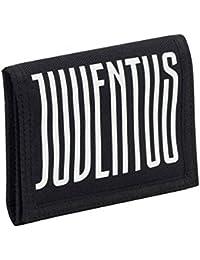 155460a426 FC Juventus portafoglio SEVEN velco DRIBBLING 3B6031801 prodotto ufficiale  2018 portafogli nero tessuto serigrafia 12,