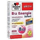 DOPPELHERZ B12 Energie Sofort Schmelztabletten 30 Stück
