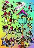 Barbara Behr Klappkarte Vogelkonzert Happy Birthday SET 2 Karten