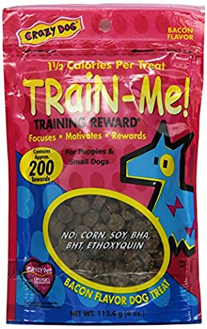 Train-Me Training Rewards Treats Mini 4oz Bacon