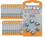 120Batterien Hörgeräte Rayovac 13Extra Advanced/Batterie Gehörschutz PR48/Batterien für Hörgeräte/13AE, A13, DA13, P13, PR13H
