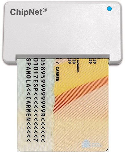 ChipNet iBOX Plus - Lector DNI para MAC - DNie y DNI3.0.-...