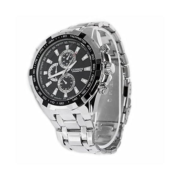 c5c365e457e4 LEORX CURREN – Reloj de cuarzo para hombre