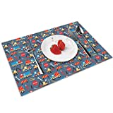 This kitchen table placemats has a variety of application that it can work as placemat, tea mat and insulation pad. It can also be placed under vase and ashtray. Definitely a perfect multipurpose decoration for home, hotel, office and kitchen table.