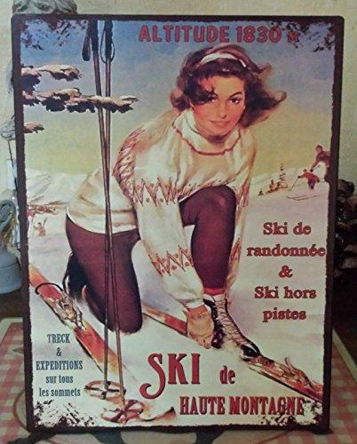 Antic Line Plaque Ski de Haute Montagne