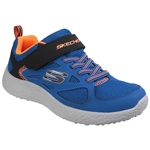 Skechers Power Sprints Sneaker Blau/Schwarz