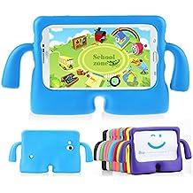 Muze - Funda protectora para Samsung Galaxy Tab 3P3200T230T211T210, goma, espuma EVA, a prueba de golpes, con asas, resistente, para niños